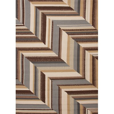Colours I-O Brown Stripe Rug