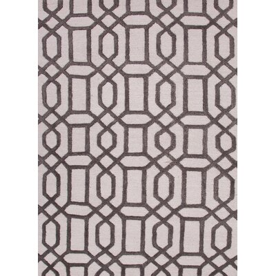 Antique White & Liquorice Rug