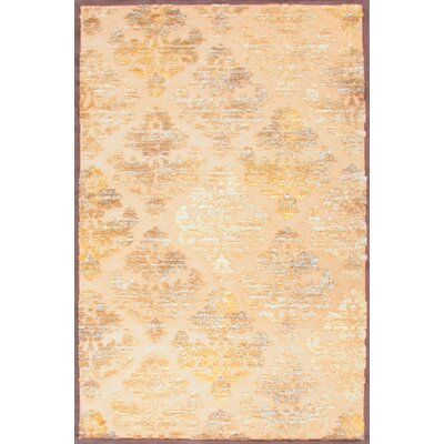 Fables Chenille Ivory/Brown Floral Rug