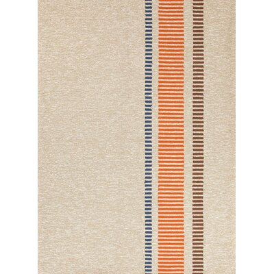 Jaipur Rugs Grant Design I-O Beige/Brown Stripe Rug