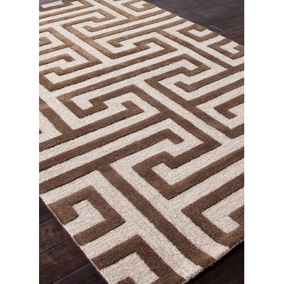 Jaipur Rugs Midtown by Raymond Waites Beige/Brown Geometric Rug
