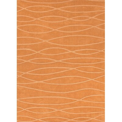 Metro Copper Solid Rug