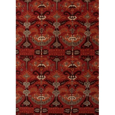 Narratives Red Crafts Rug