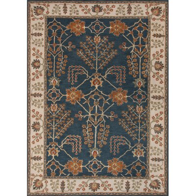 Poeme Indigo/Dark Ivory Arts/Crafts Rug