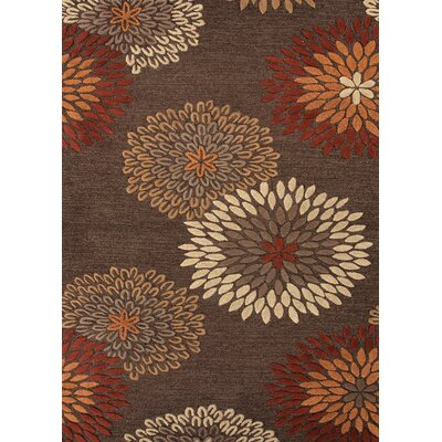 Jaipur Rugs Traverse Brown Floral Rug