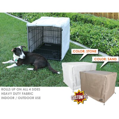Animated Pet Midwest Life Stages 2-Door Dog Crate Cover