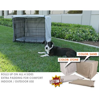 Animated Pet Midwest Select 3-Door Dog Crate Cover and Pad Set