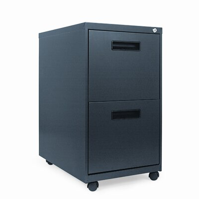 Alera® 2-Drawer Mobile Pedestal File