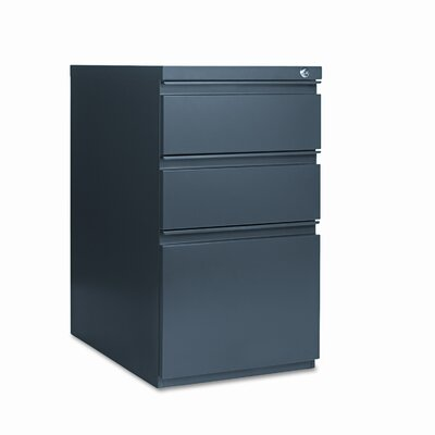 Alera® 3-Drawer Mobile Pedestal File