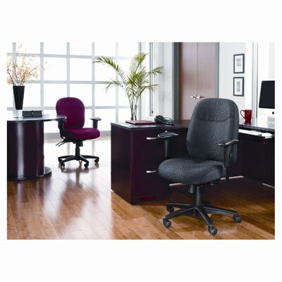 Alera® Wrigley Series High-Back Multifunction Chair with Gray Upholstery