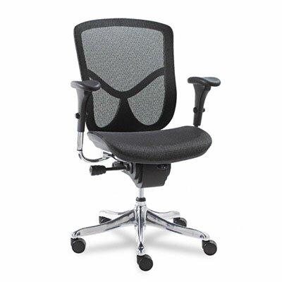 Alera® EQ Series Ergonomic Multifunction Mid-Back Mesh Office Chair
