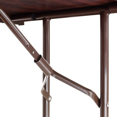 "Alera® 72"" Folding Table in Walnut"