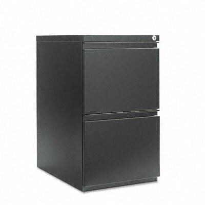 "Alera® 23"" Two-Drawer Mobile Pedestal File with Full-Length Pull"