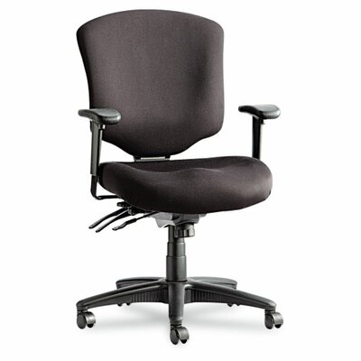 Alera® Wrigley Pro Series Mid-Back Multifunction Office Chair with Seat Glide