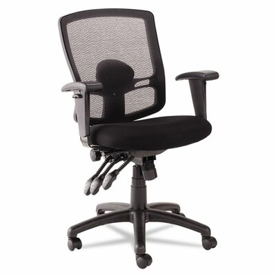 Alera® Etros Series Mid-Back Mesh Petite Multifunction Office Chair