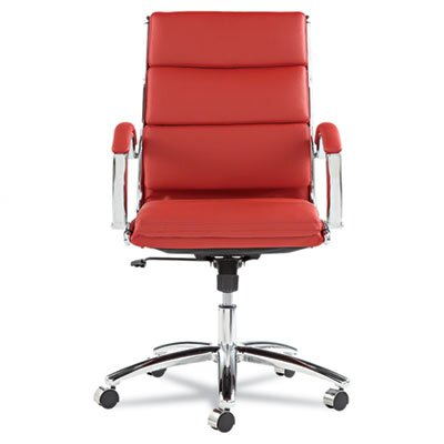 Alera® Mid-Back Leather Neratoli Slim Profile Office Chair