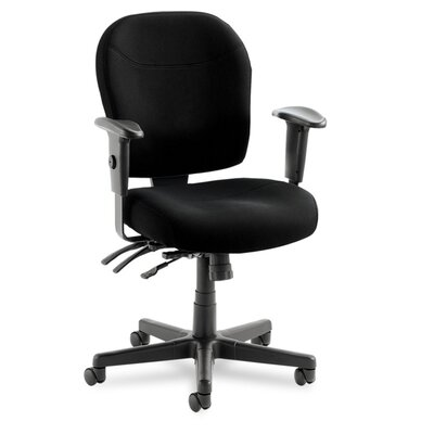 Alera® Wrigley 24/7 High Performance Mid-Back Multifunction Task Chair