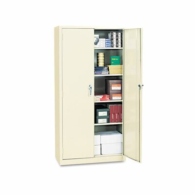 Alera® Assembled High Storage Cabinet, 4 Adjustable Shelves, 36 x 18 x 72