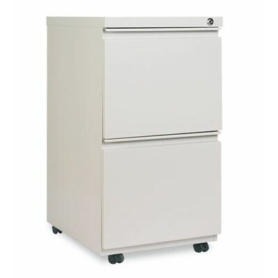 Alera® Two-Drawer Mobile Pedestal File Cabinet