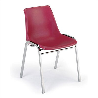 KI 1060 Stack Chair with Chrome Frame