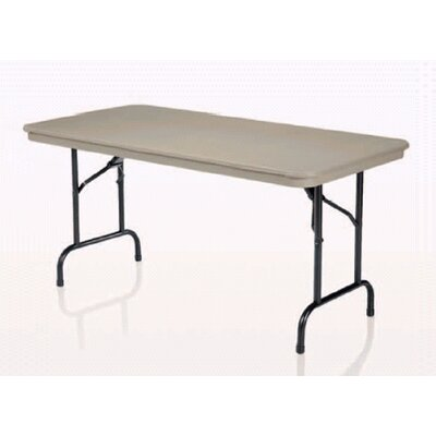 "KI Furniture 30"" x 60"" Duralite Folding Table"
