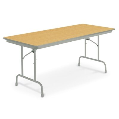 "KI Furniture 24"" x 72"" Heritage Folding Table"