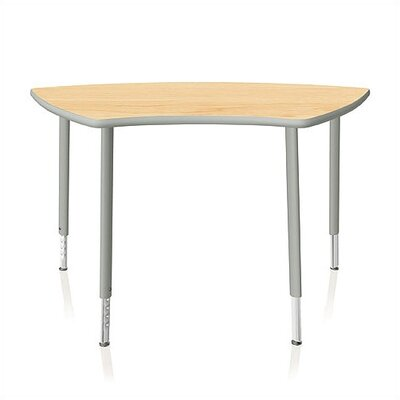 KI Intellect Series 50&quot; x 24&quot; Activity Table with Adjustable Legs
