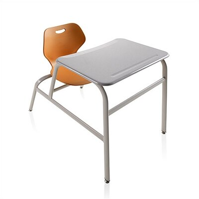 "KI Intellect Wave 32"" ABS Plastic Combo Desk"