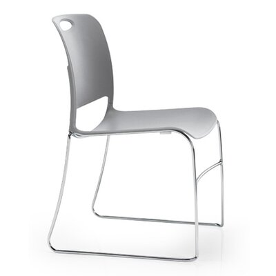KI Furniture Maestro Stack Chair with Chrome Frame