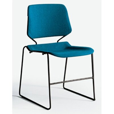 KI Furniture Matrix Stack Chair with Black Frame