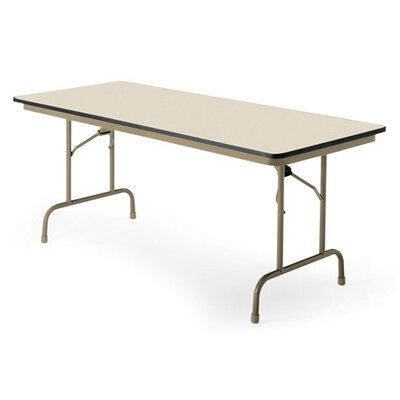 "KI Furniture Premier 30"" X 60"" Folding Table"