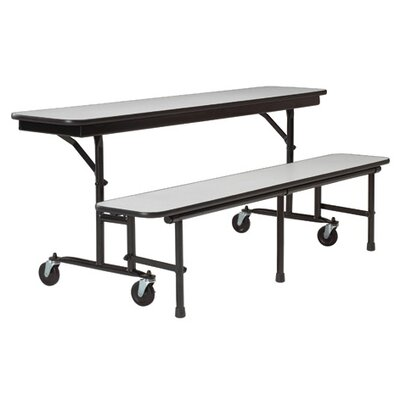 KI Furniture 8' Convertible Uniframe Bench