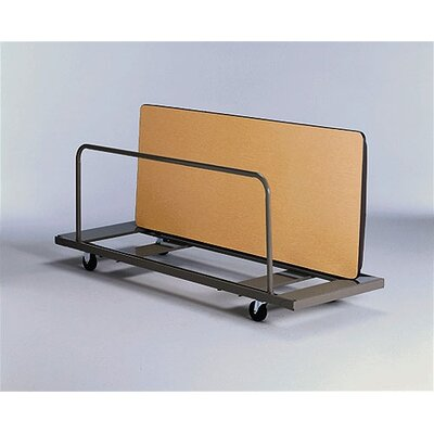 KI Furniture Vertical Storage Caddy Table Dolly
