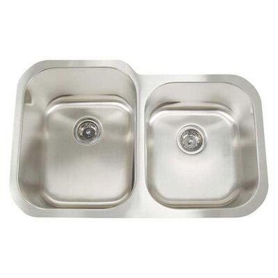 Artisan Sinks Manhattan Double Bowl Undermount Kitchen Sink