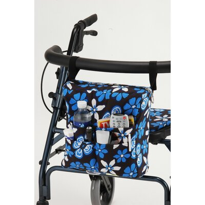 Nova Ortho-Med, Inc. Hawaii Floral Walker Bag in Blue