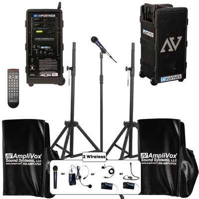 AmpliVox Sound Systems Platinum Digital Audio Travel Partner Package