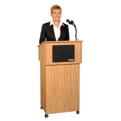 AmpliVox Sound Systems Tabletop Lectern
