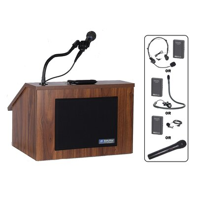 AmpliVox Sound Systems EZ Folding Tabletop Lectern