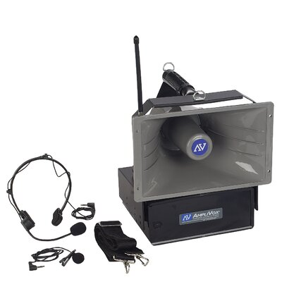 AmpliVox Sound Systems Wireless Half-Miler 50 Watt Hailer