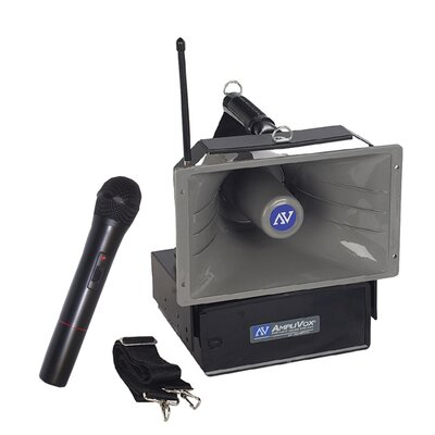 AmpliVox Sound Systems Wireless Handheld Half-Mile Hailer