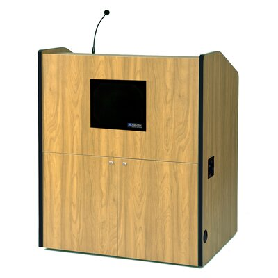 AmpliVox Sound Systems Multimedia Smart Full Podium