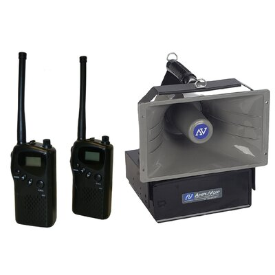 AmpliVox Sound Systems Wireless 1 Mile Radio Hailer