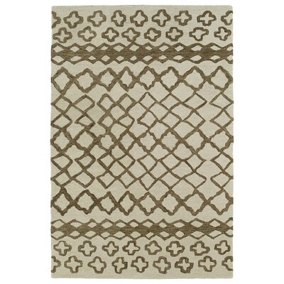 Kaleen Casablanca Brown Geomatric Indoor/Outdoor Rug