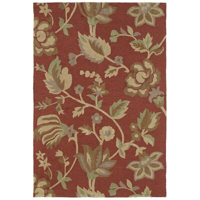 Crowne 17 Baldwin Red Rug