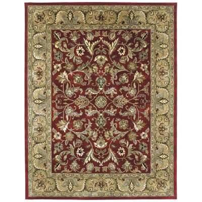 Mystic William Garden Red Rug