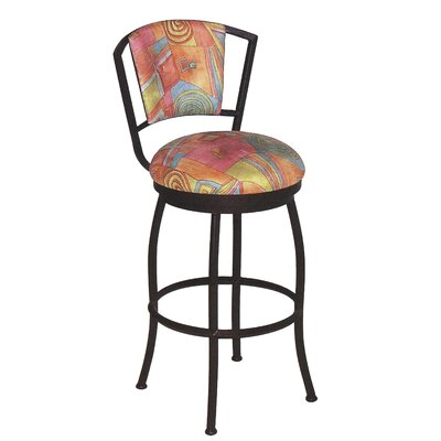 "Tempo Burbank 26"" Swivel or Stationary Counter Stool"