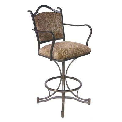 "Tempo Cambridge 26"" Swivel Stool w/ Arms"