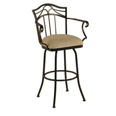 Burlington Swivel Counter Stool w/ Arms
