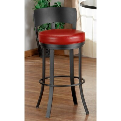 "Tempo Birkin 26"" Swivel Bar Stool with Cushion"