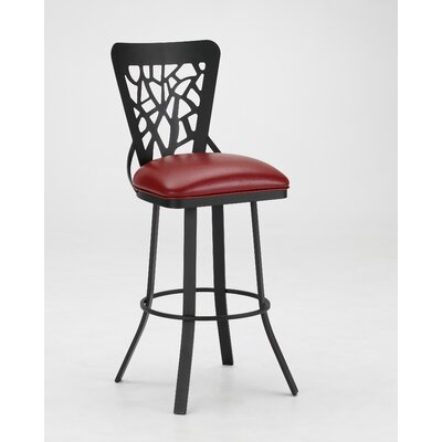 "Tempo Sarasota 26"" Armless Swivel Counter Stool"